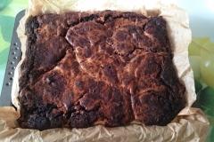 frische Schmand Brownies