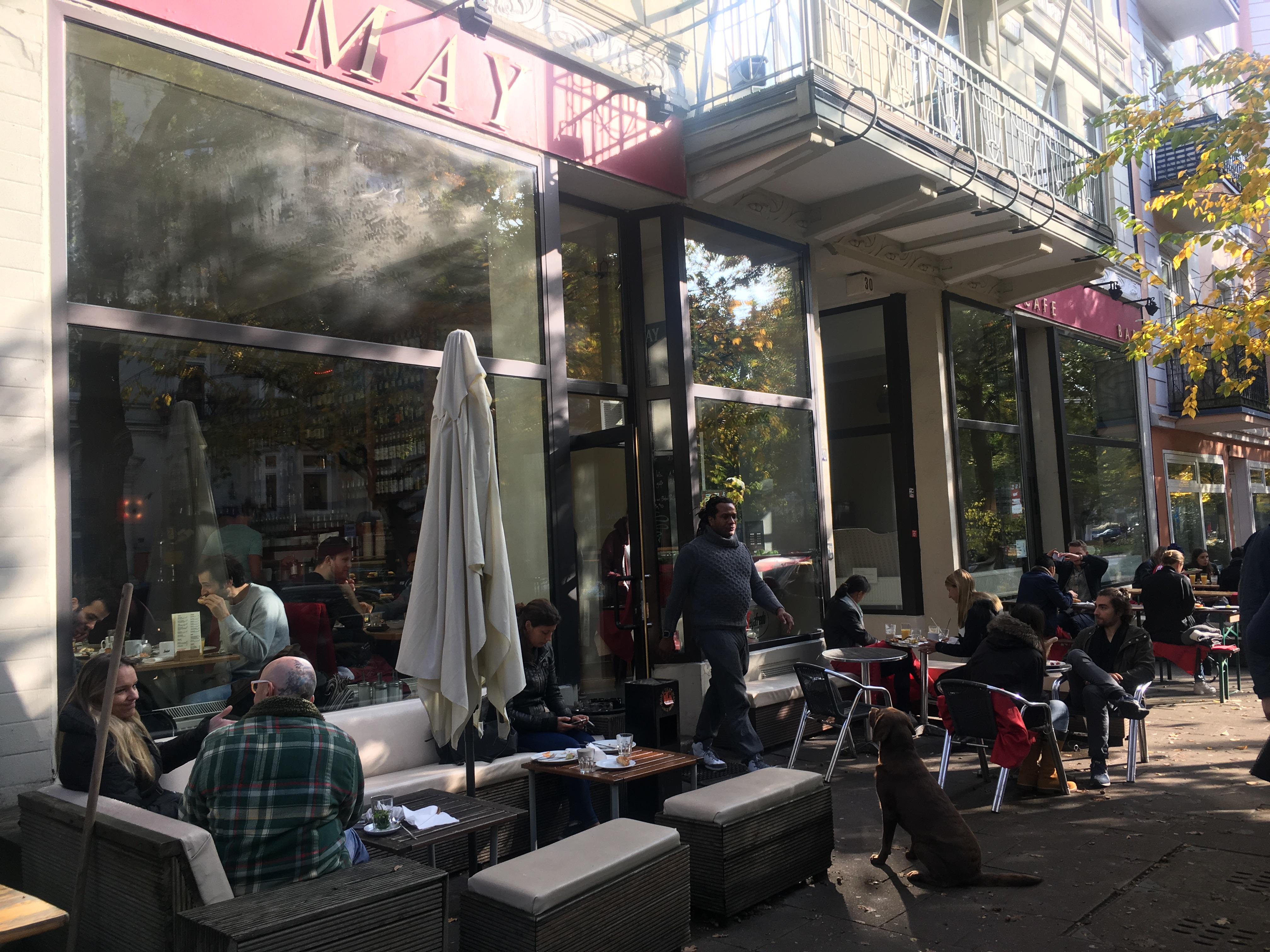 Cafe May Eimsbüttel außen