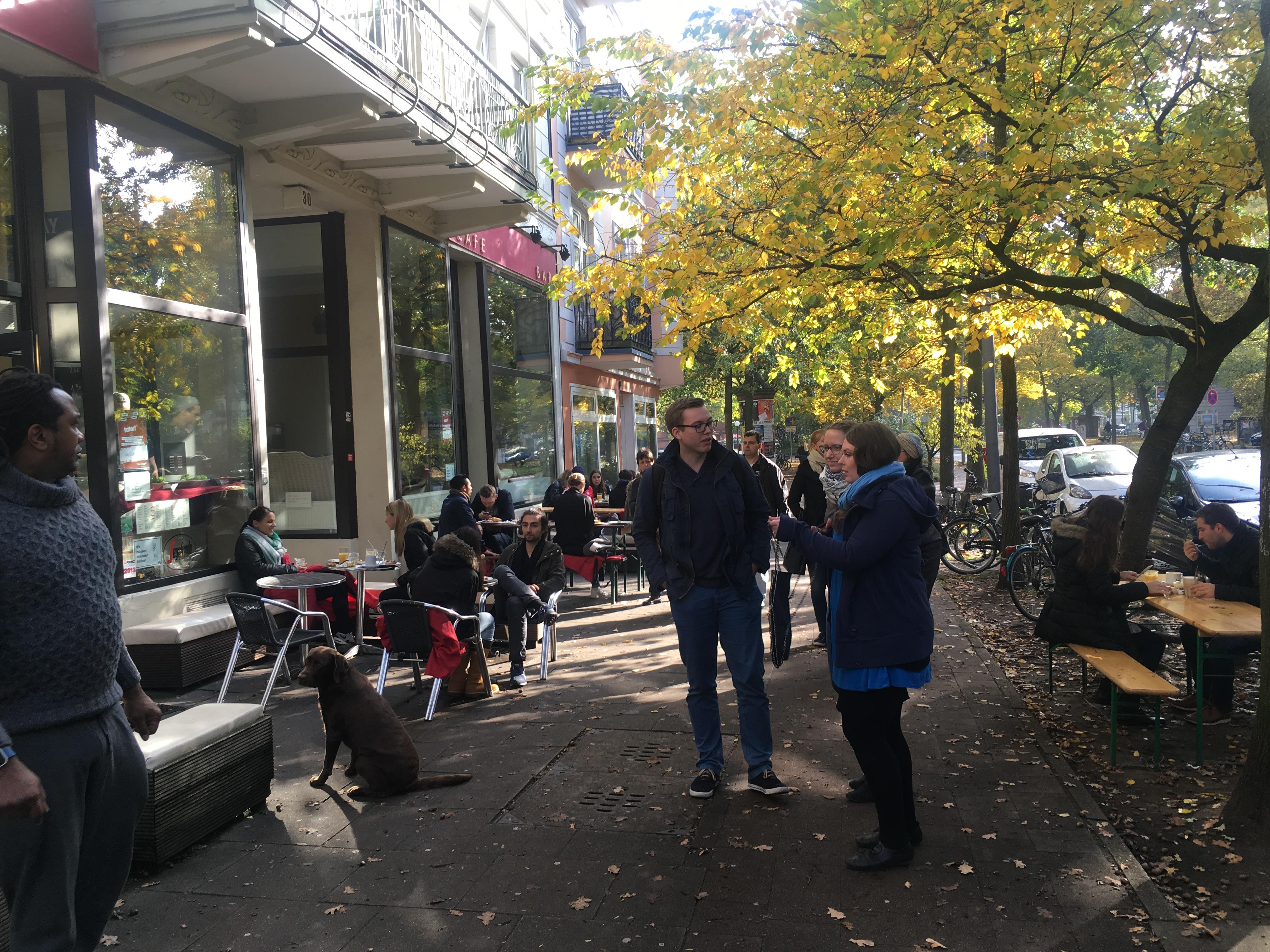 Cafe May Eimsbüttel außen 2