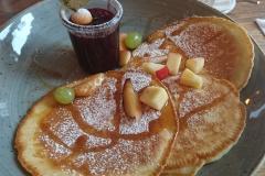 Fruity Pancakes Close up