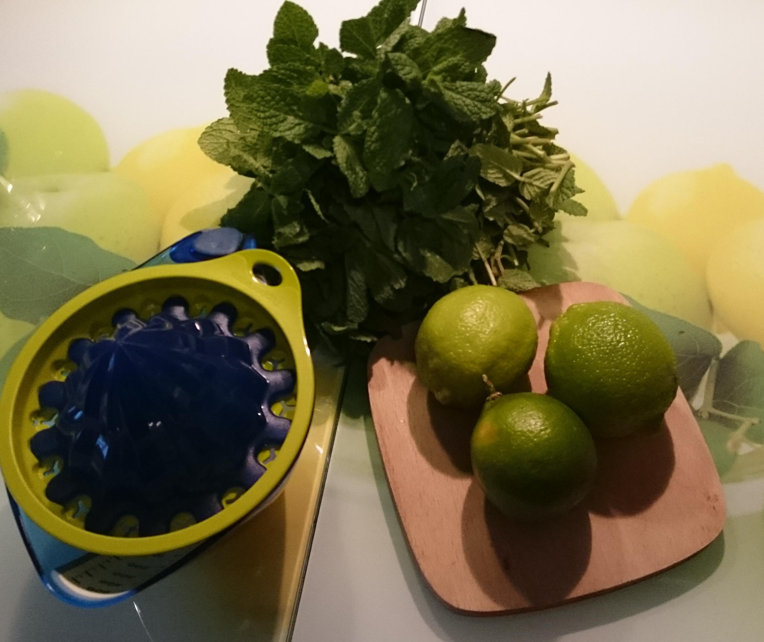 Limette Minz Zutaten