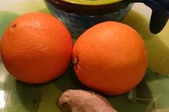 Zutaten Orangen Ingwer Sirup