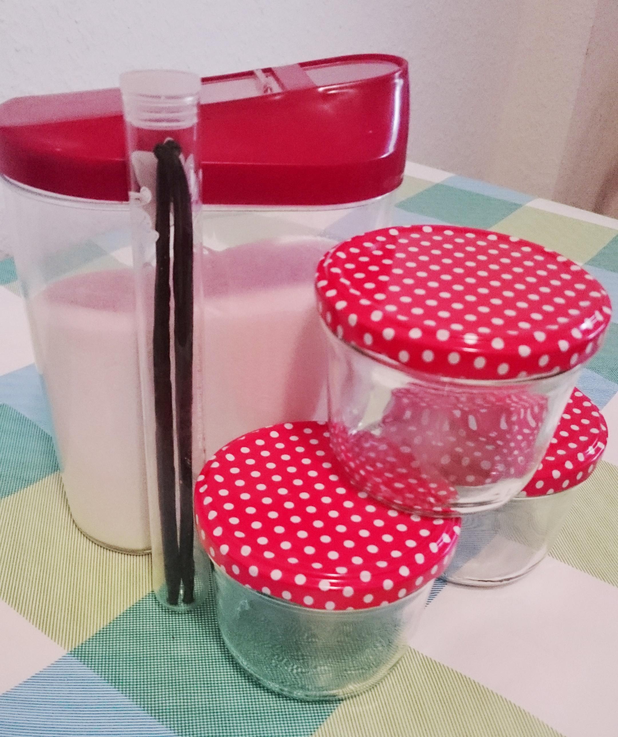 Vorbereitung Vanillezucker