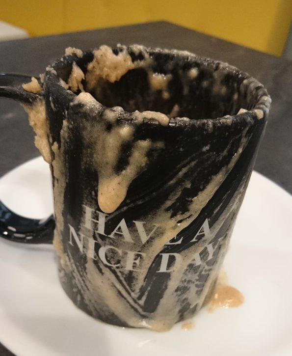 Mug Cake Fail (>.<)